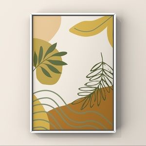 COPY - Modern contemporary boho abstract art print